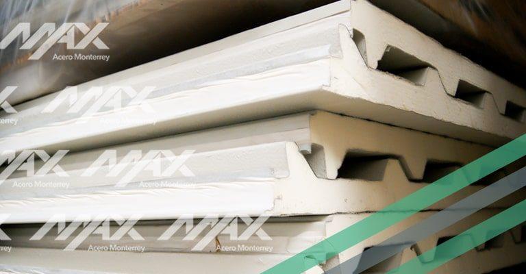 Panel econotecho, marca Ternium. Distribución autorizada por Max Acero Monterrey.