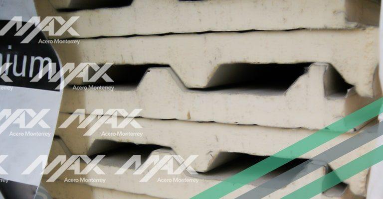 Panel Económico para techo, distribuido por Max Acero Monterrey.