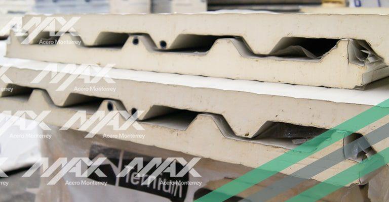 Panel de acero Econotecho de Max Acero Monterrey.