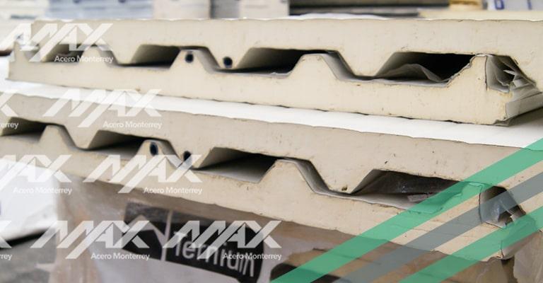 Panel de acero Econotecho Max Acero Monterrey