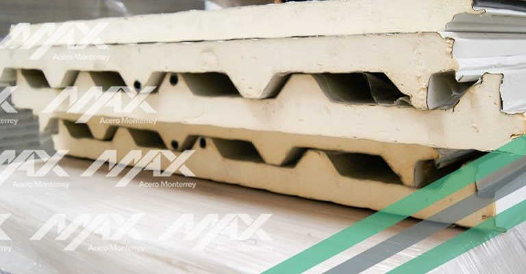 Galvatecho Ternium aislante, ideal para techos termoacústicos.