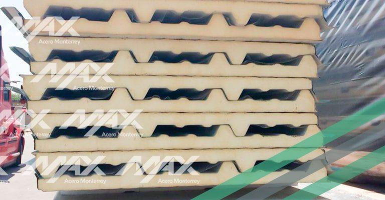 Panel para techo marca Ternium Galvatecho.