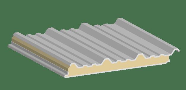 Glamet lv, estructura del panel aislante.