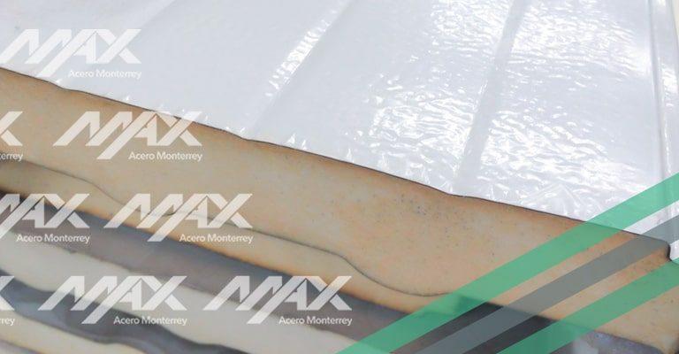 Panel aislante Multytecho Ternium Max Acero Monterrey