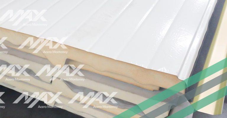 Panel de acero Multytecho, distribuido por Max Acero Monterrey.