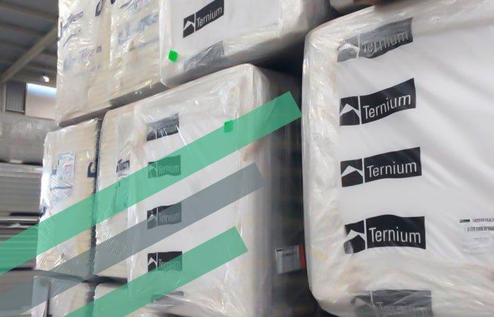 Paneles para construcción marca Ternium