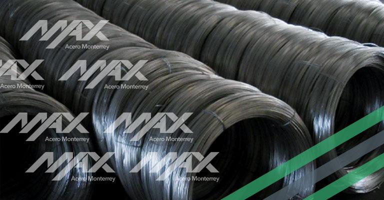 alambre de acero Max Acero