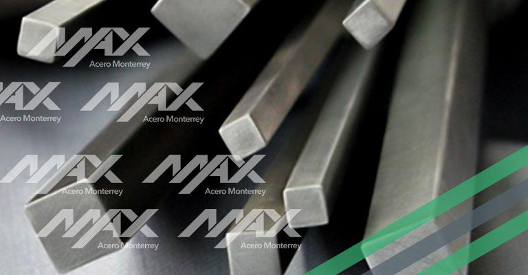 barra cuadrada de acero Max Acero