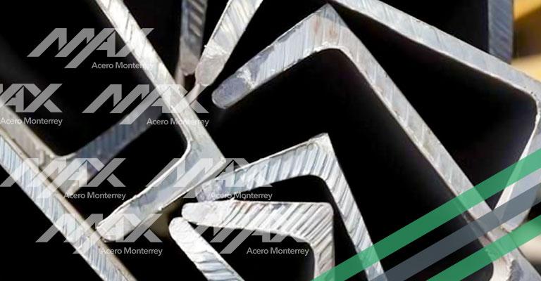 Canal de acero, perfil CPS. Venta en Max Acero Monterrey.