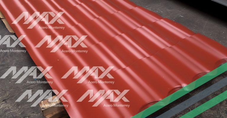 Galvateja coolroof Ternium Max Acero