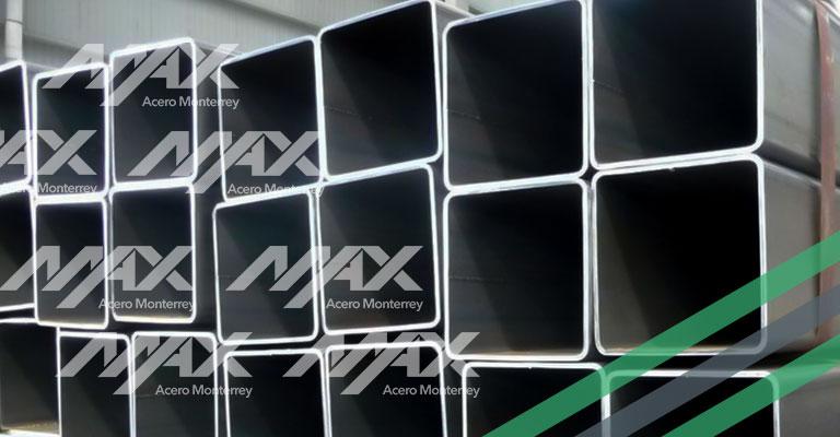 Perfil de acero estructural HSS; el mejor precio en Max Acero Monterrey.