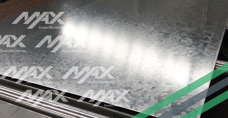 Lámina galvanizada Max Acero