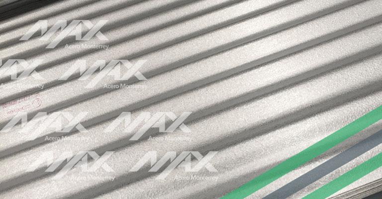 Lámina O-100 Zintro alum Max Acero