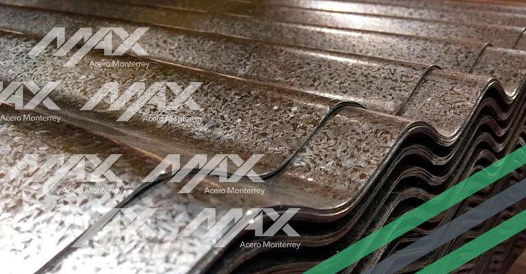Lámina O-30 galvanizada Max Acero
