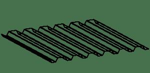 Lámina R91.5 Max Acero