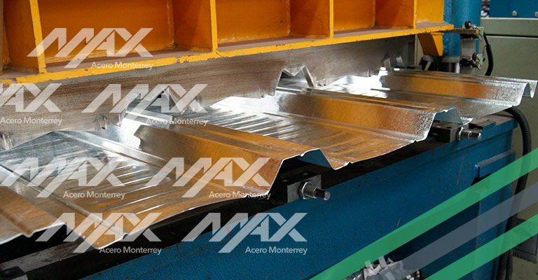 Lámina RN100-35 Galvanizada Max Acero