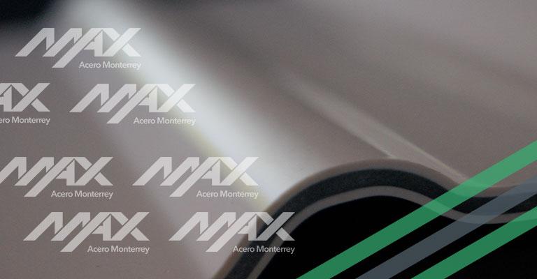 Lámina Tricapa de PVC Max Acero