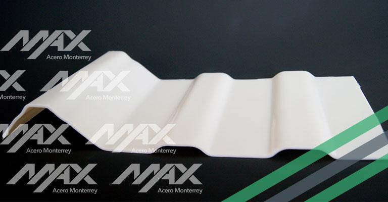 Lámina Unicapa PVC Max Acero