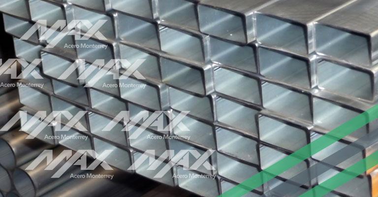Perfil tubular rectangular Max Acero
