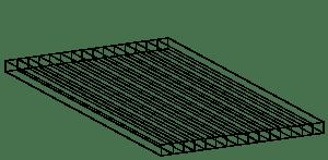 policarbonato celular Max Acero