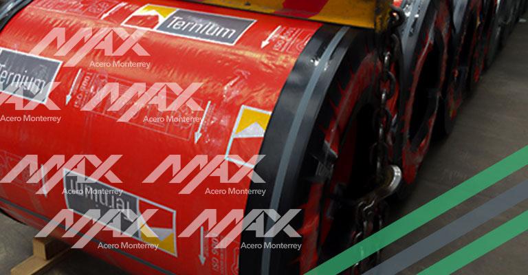 Producción de rollos de acero Ternium Max Acero