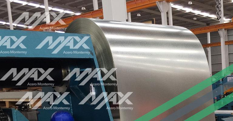 Rollo de acero Ternium Max Acero
