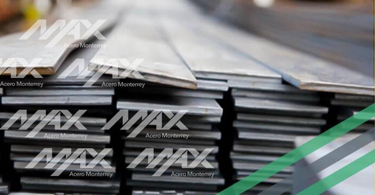 Soleras de acero al mejor precio en Max Acero Monterrey.