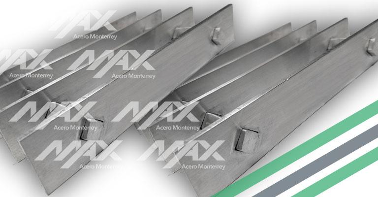 Rejilla de acero electrosoldado al mejor precio. Max Acero Monterrey.